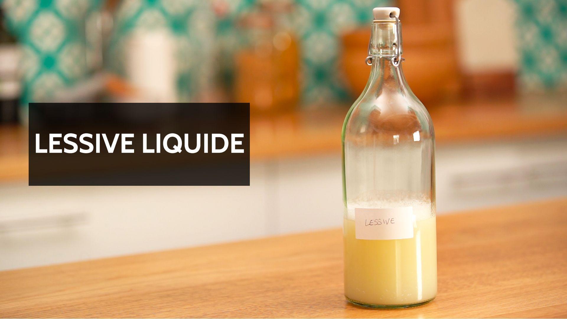DIY – Lessive liquide maison