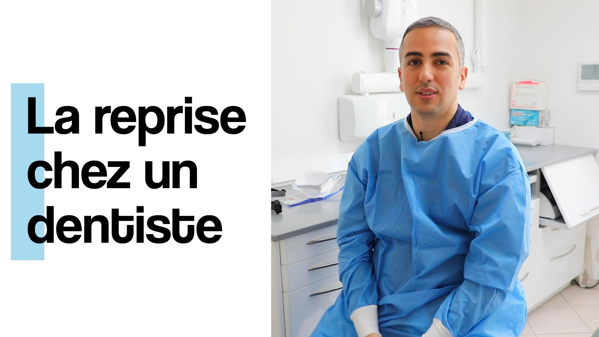 Le déconfinement vu par un dentiste