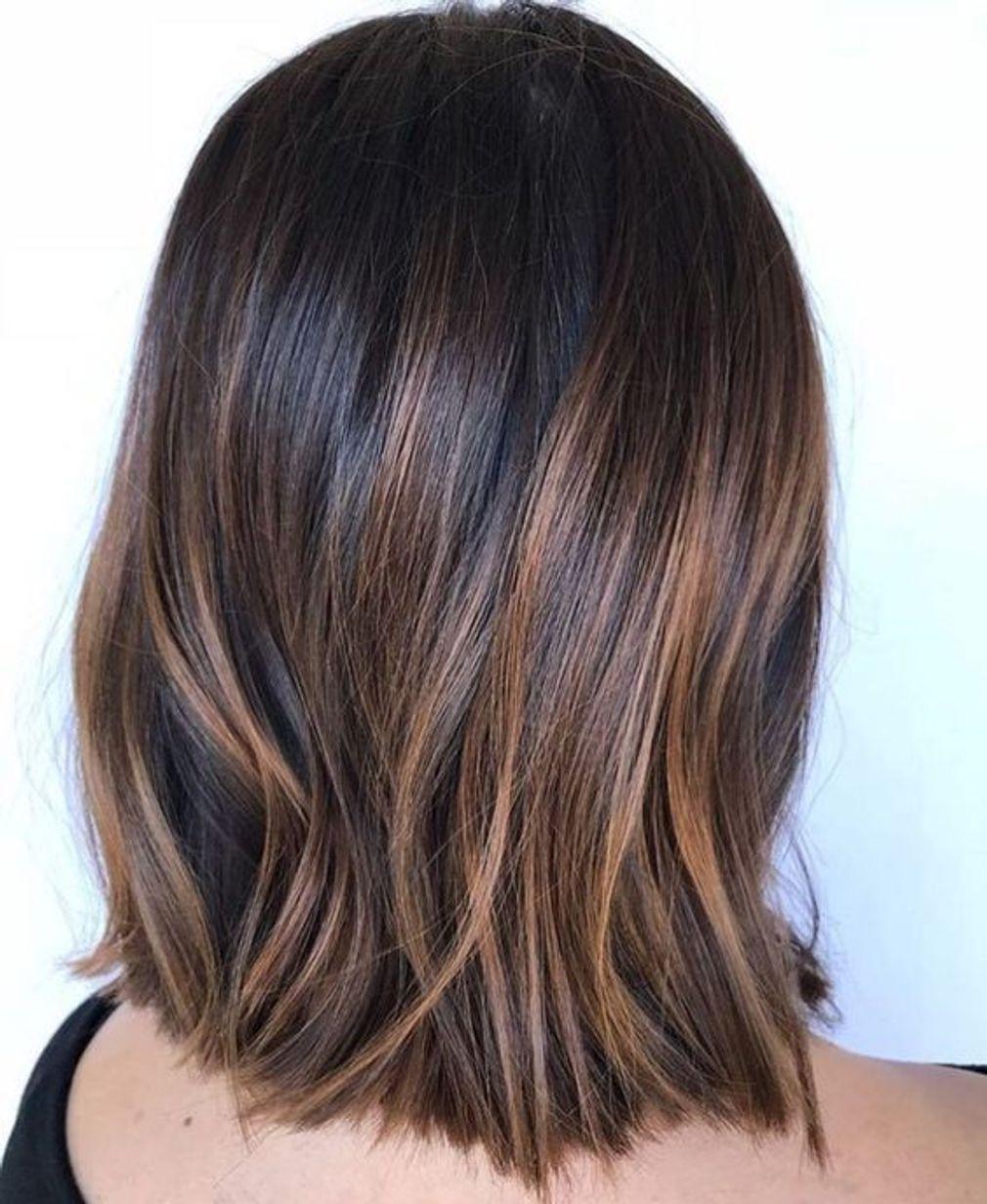 Balayage Caramel Short Hair