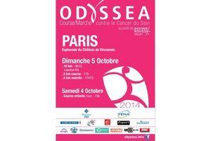 Courez ce week-end avec Odyssea et luttez contre le cancer du sein