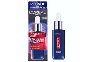 Le Sérum de Nuit au Rétinol Pur - Revitalift Laser de L'Oréal Paris