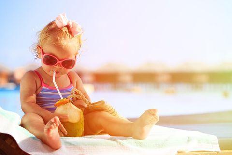 Les erreurs à ne pas faire avec bébé en été