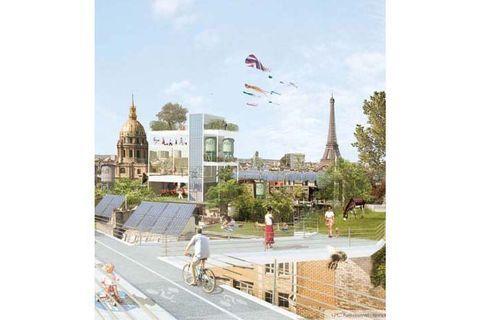 """L'expo-fiction """"+2°C...Paris s'invente !"""""""
