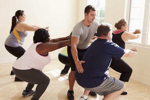 De courtes séances de sport répétées au long de la semaine permettraient aux personnes en surpoids d'abaisser leur risque de maladies cardiovasculaires.