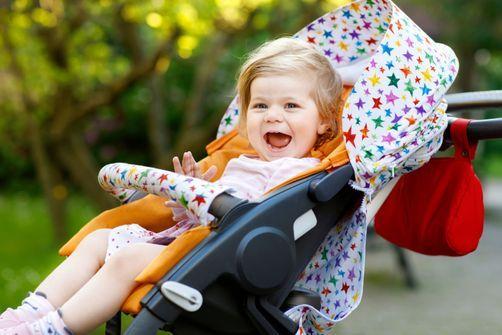 Les poussettes basses exposeraient plus les bébés à la pollution