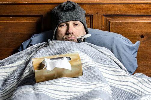 grippe de l'homme