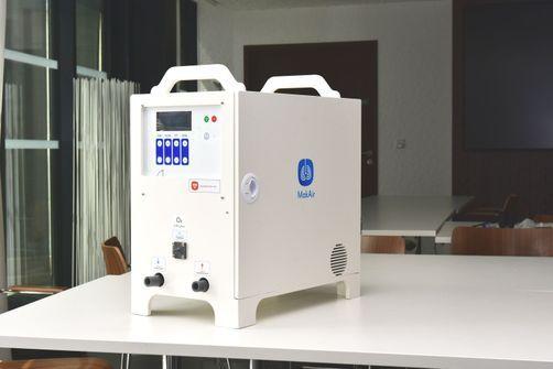 """""""MakAir"""", un respirateur artificiel spécialement conçu pour les patients atteints de Covid-19"""