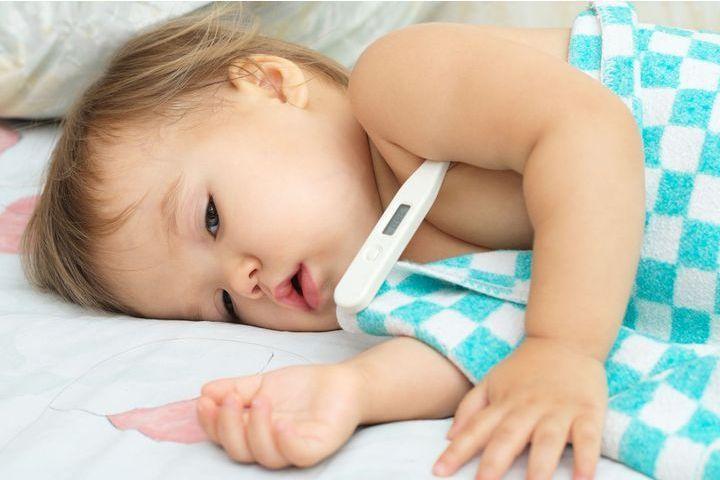 fièvre de bébé