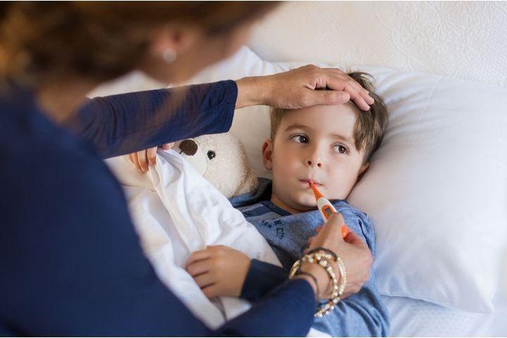 grippe chez l'enfant