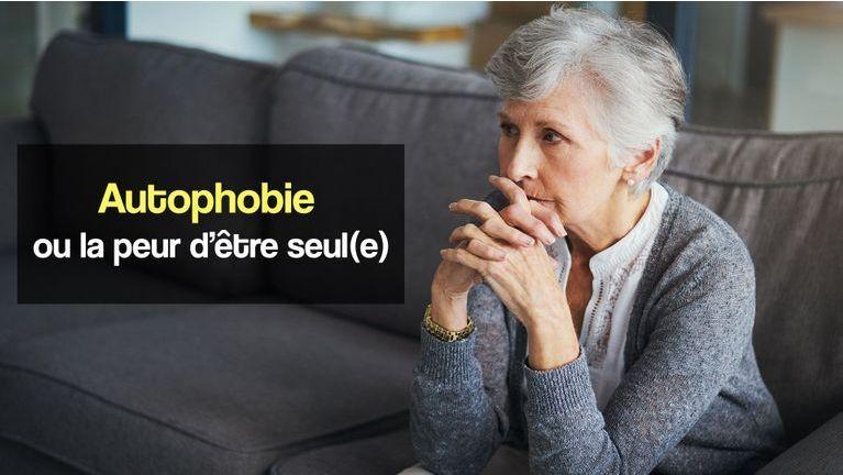 autophobie ou peur d'être seul