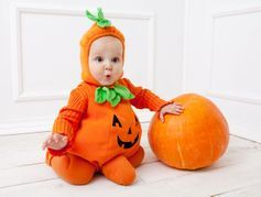 Rappel de déguisement de citrouille pour bébé