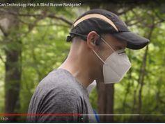Grâce à leur smartphone, les aveugles peuvent faire tranquillement leur jogging