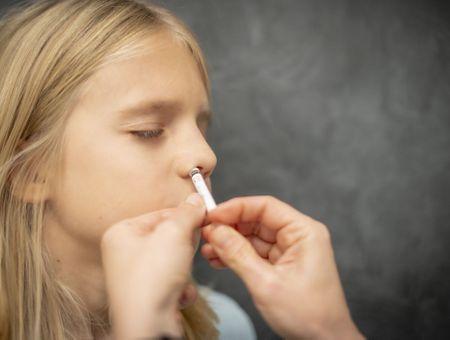 Covid-19 : brevet déposé pour un vaccin par voie nasale