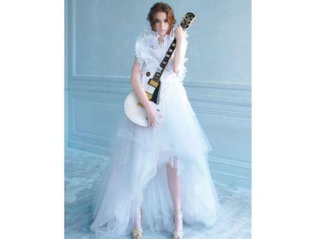 Robe de mariée rock : 12 modèles chocs !