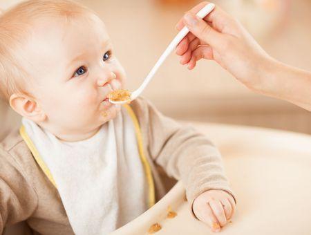L'alimentation de bébé à 5 mois