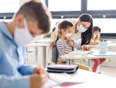 Covid école : masques, protocole renforcé, risques de contamination