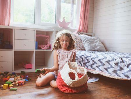 Comment apprendre l'art du rangement aux enfants ?