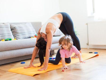 Pour occuper les enfants confinés, des cours de gym passent en ligne