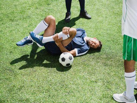 Foot : les blessures des footballeurs