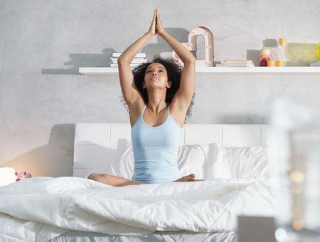 Yoga au saut du lit