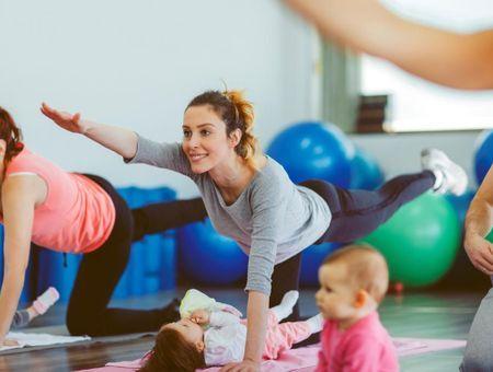 Reprendre le sport après l'accouchement  : quels sports faire avec mon bébé ?