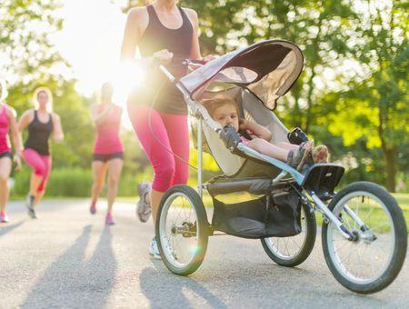 Sport en poussette : retrouver la forme avec le stroller strides