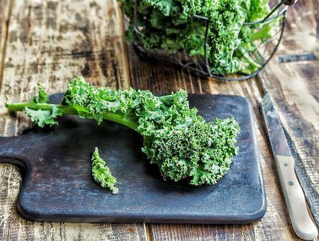 Le chou kale (ou chou frisé)