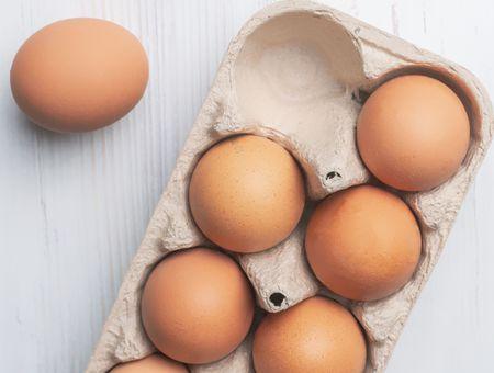 Rappel œuf plein air moyen de L'œuf des collines