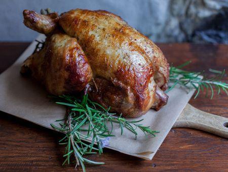 Rappel poulet rôti de marque l'Étal du volailler