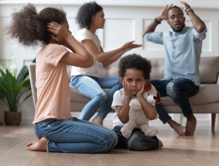 Les disputes devant les enfants. Est-ce grave ?