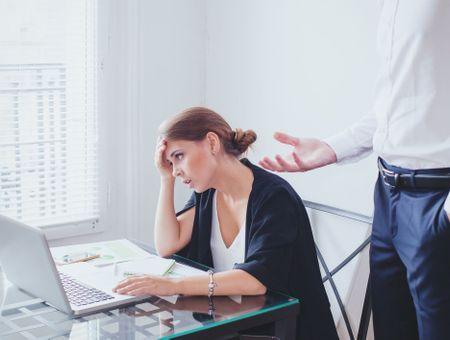 Témoignages de harcèlement au travail