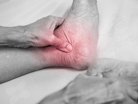 Arthrose du pied et de la cheville