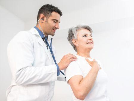 L'asthme touche aussi les seniors