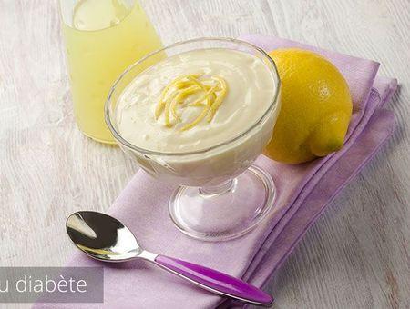 Mousse de fromage blanc au citron