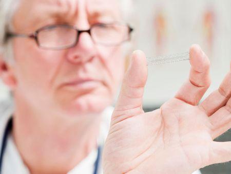 La pose d'un stent : une intervention banale en cardiologie