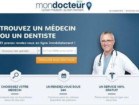 Trouvez un rdv médical en trois clics grâce à MonDocteur.fr