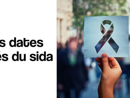 Les dates clés de la lutte contre le sida
