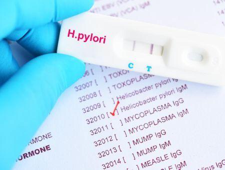 Prévention des ulcères de l'estomac : un autotest pour détecter Helicobacter pylori