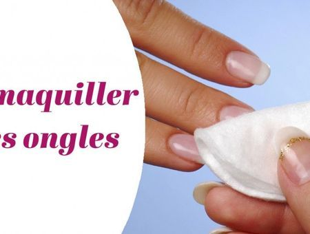 Comment démaquiller ses ongles ?