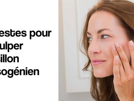 3 gestes pour réduire votre sillon nasogénien
