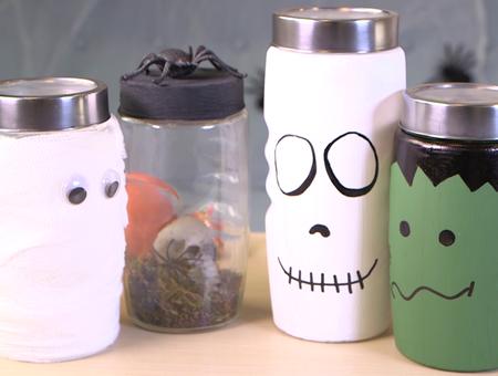Décoration Halloween – 3 idées faciles à faire soi-même