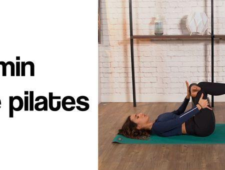 8 minutes de Pilates par jour