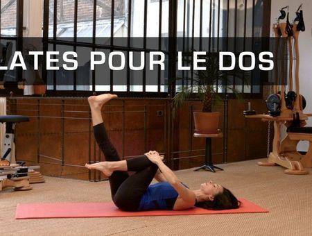 Pilates pour renforcer son dos
