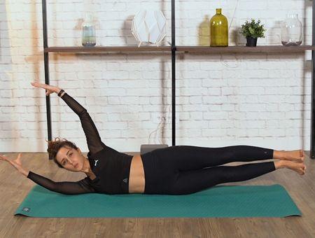 """Séance de Pilates """"total body"""""""
