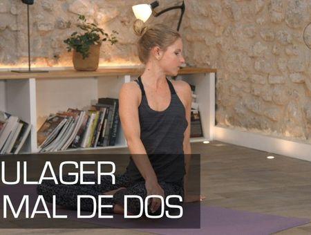 Séance de yoga contre le mal de dos