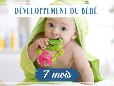 Développement de bébé - 7ème mois