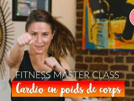 Cardio-training en poids de corps (20 min)– Fitness Master Class