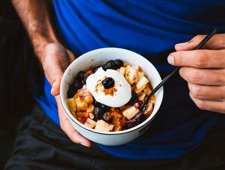 Que peut-on manger avant une séance de sport ?
