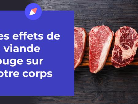 Viande rouge : les effets sur votre corps