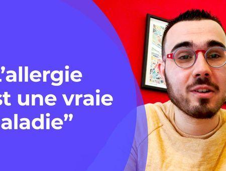 """L'allergie est une vraie maladie"" #LeMotdeLAsso"